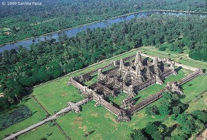 The 'mandala' - 'magic circle' of Angkor Wat.