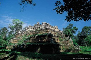 The Phimeanakas, 'Palace of Heaven' was perhaps the scene for Khmer astronomical rituals involving the constellation of Draco, the serpent.