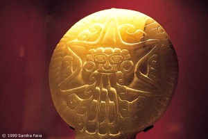 Stellar Venus symbol from Teotihuacan, dispensing influence downwards towards the earth. Compare with picture 8 in Egypt gallery 6.