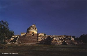 The Observatory at Chichen Itza provides sight lines to the setting of Venus, the solstices and equinoxes. Were the Mayans heir to an advanced astronomical knowledge?