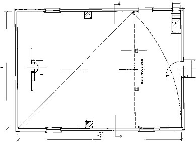 Plan of Meetinghouse