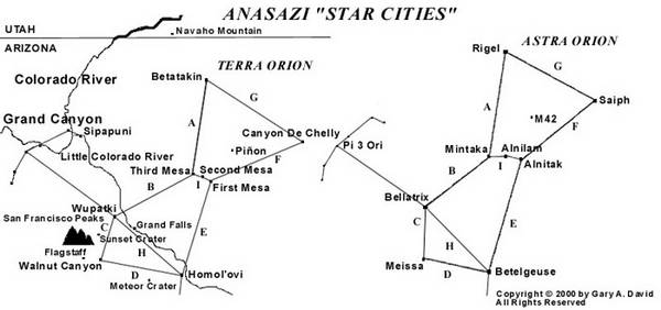 The Orion Zone: Ancient Star Cities of the American Southwest