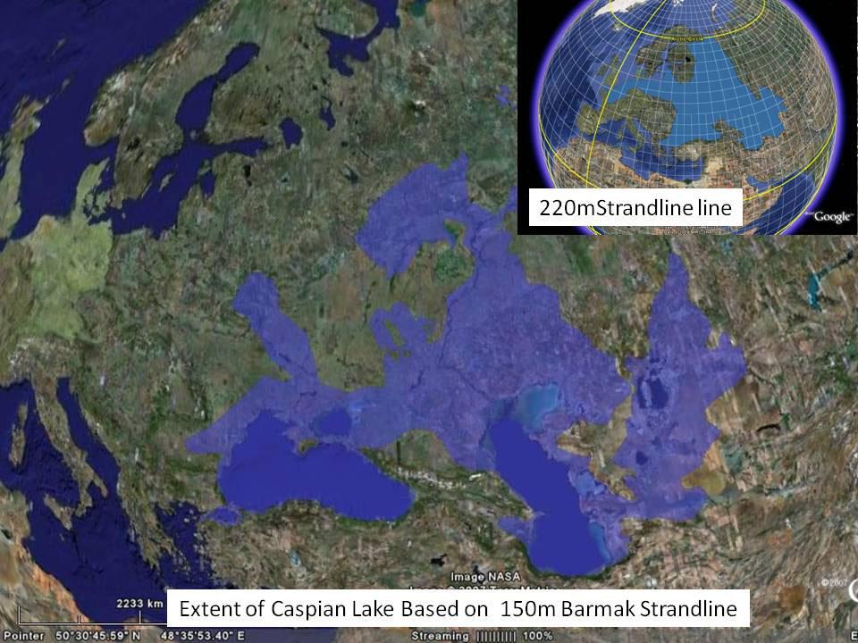 coastlines of the ice age  9259x4629   oc    map porn