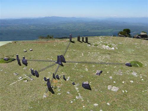A 3-D reconstruction of Adam's Calendar
