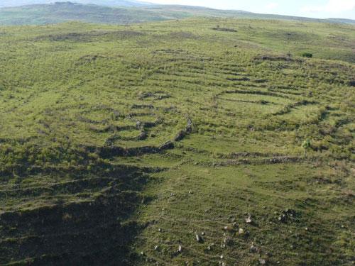 Ancient terraces