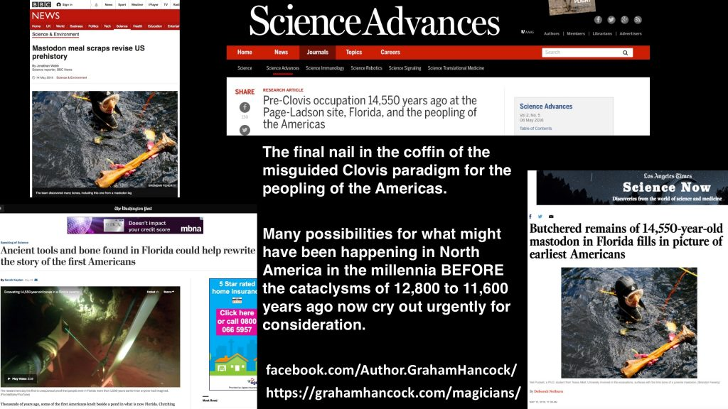First Americans news collage