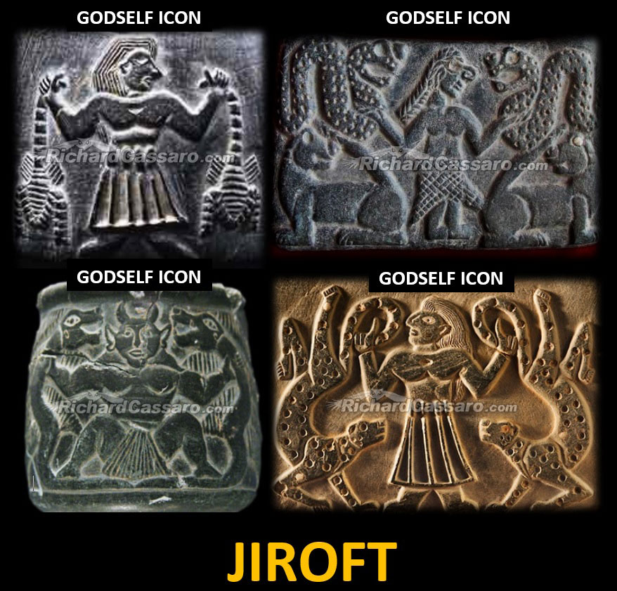 GodSelf Icons from Jiroft, 3rd millennium BCE.