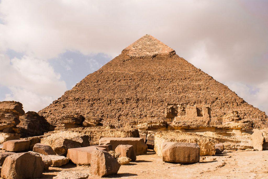 Khafre Pyramid. (c) Mstyslav Chernov CC BY-SA 3.0