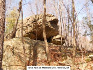 Turtle Rock on Marlboro Mtn. Plattekill, NY