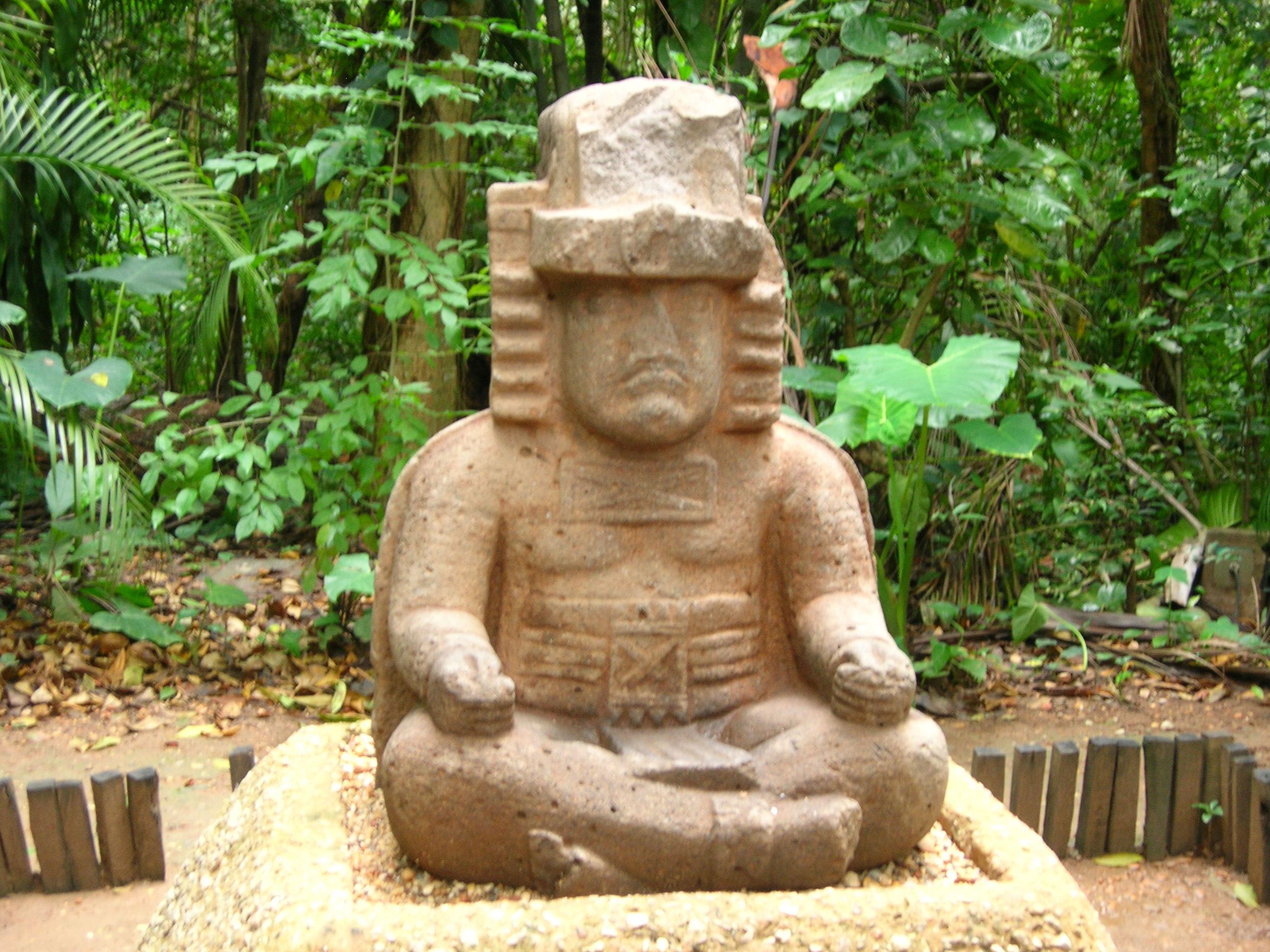Olmec People Olmec Yogis wit...