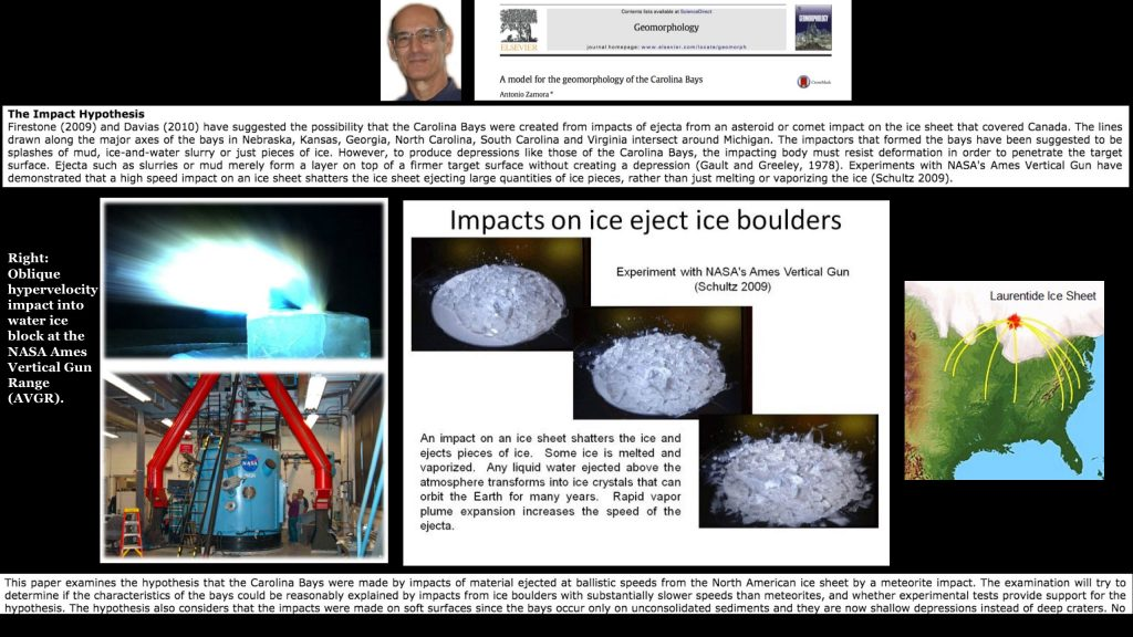 The Younger Dryas Impact research since 2007 - The Cosmic Tusk