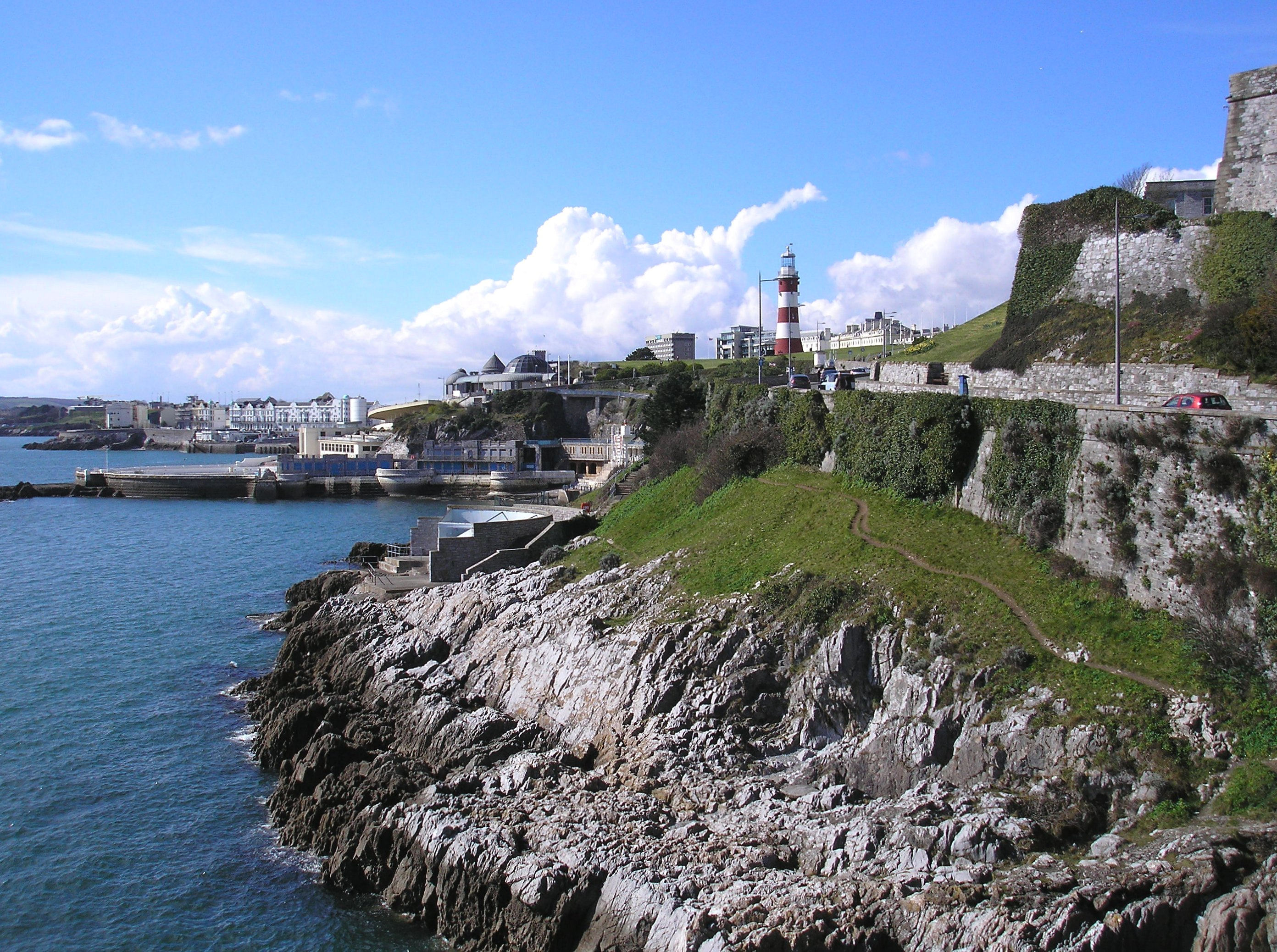 Giant's Leap, Plymouth Hoe, Devon
