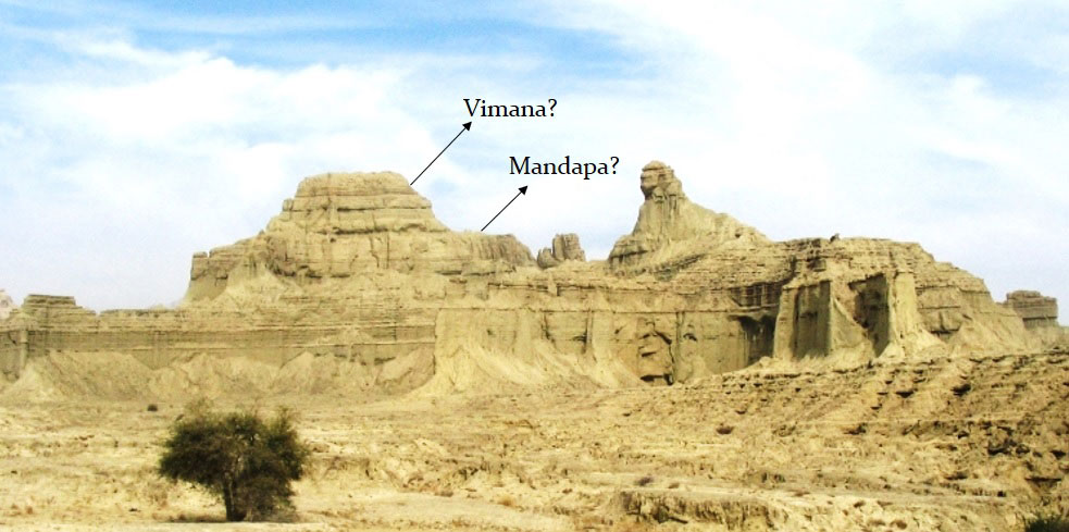 The Sphinx Of Balochistan Is It A Man Made Rock Cut
