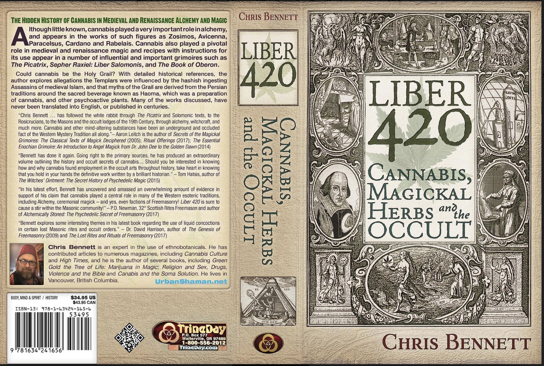 Liber 420: Cannabis, Magickal Herbs and the Occult - Graham Hancock